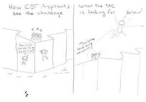 Cartoon About Becoming a CSt