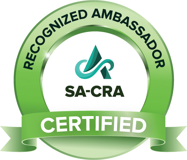 SA Recognized Ambassador Certificate