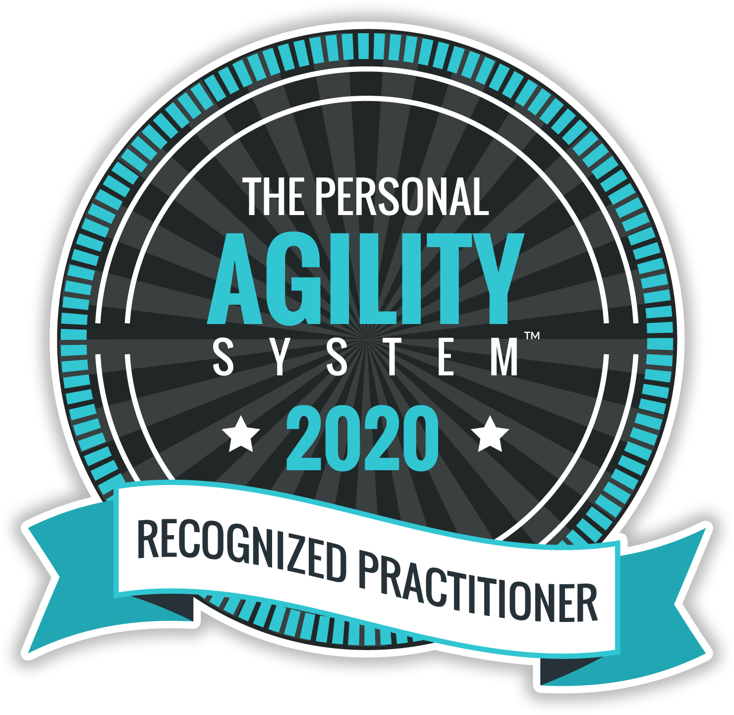 PARP Personal Agility Recognized Practitioner 2020 Badge